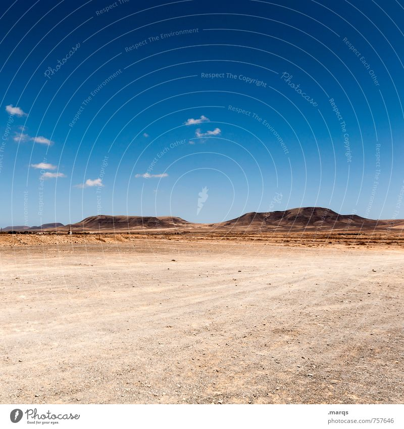 Sky Nature Summer Loneliness Landscape Far-off places Environment Freedom Horizon Beautiful weather Adventure Hill Dry Hot Drought