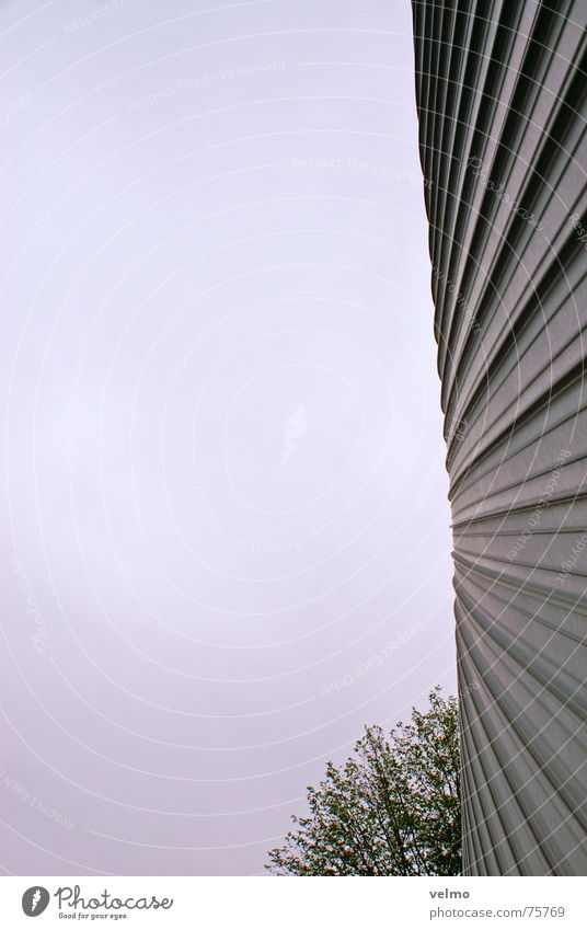 a wall is (k)a disc Netherlands Design Tin Facade Round Upward arcam Metal Sky Architecture
