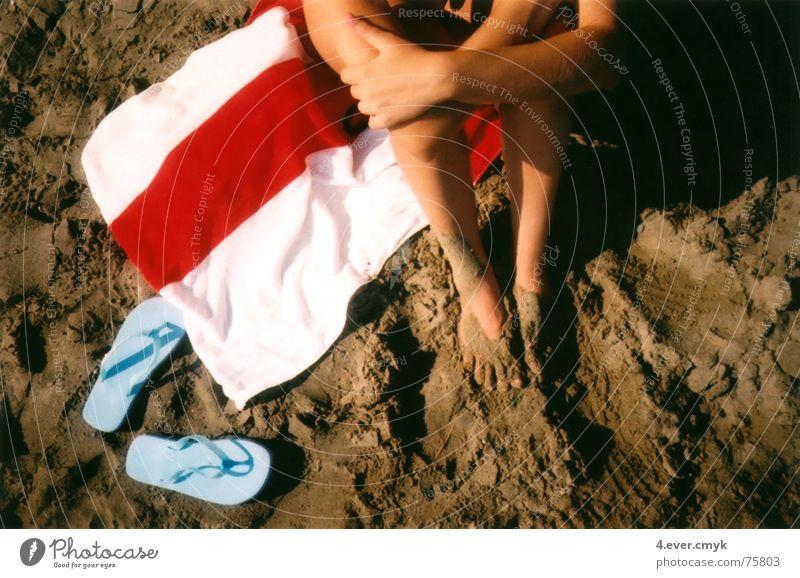 danai Beach Flip-flops Summer Sand legs sitting relaxing