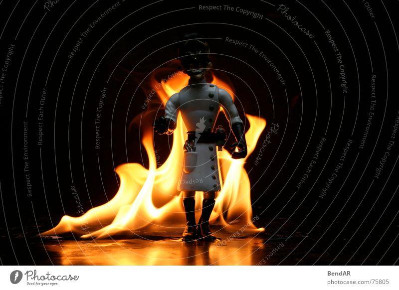 Burnin Professor - Terminator Dark Toys Black Blaze Flame terminator