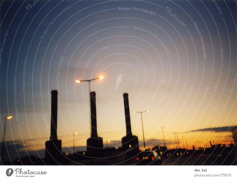 City of tiny lights Night Twilight Sunset Highway 1999 UFO National security zomtec Evening Chimney Light Lomography Extraterrestrial being ... but that is