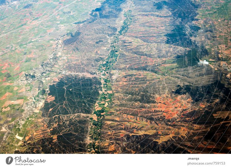 Nature Plant Landscape Far-off places Environment Flying Earth Tall Vantage point Land Feature Satellite picture
