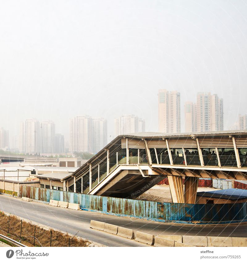 City City life Transport High-rise China Environmental pollution Smog Overpopulated Beijing