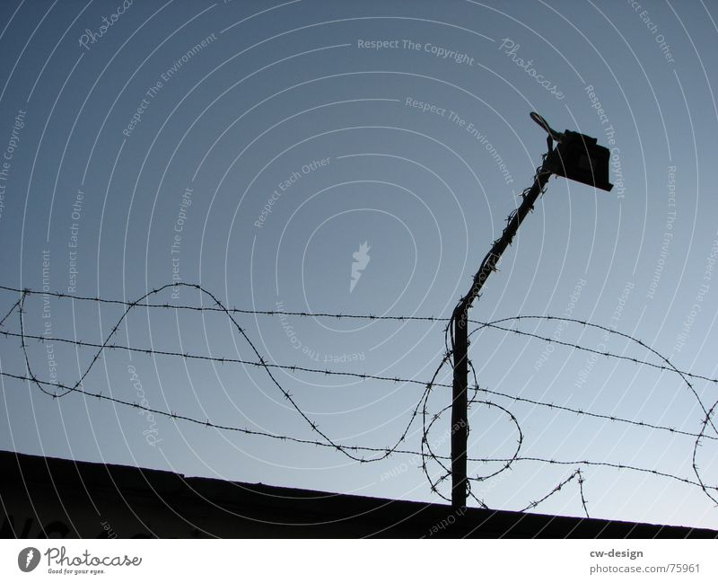 happy free friends? Barricade Tension wire Fence East Wall (barrier) Light Wire Barbed wire Barrier Captured Germany Floodlight Border GDR Soviet zone