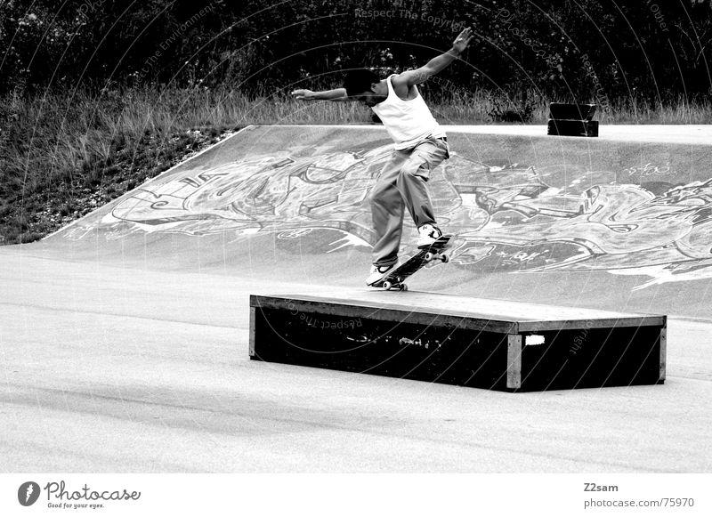 Summer Sports Style Jump Park Action Contentment Lifestyle Skateboarding Loudspeaker Trick Slide Funsport Spray Parking level