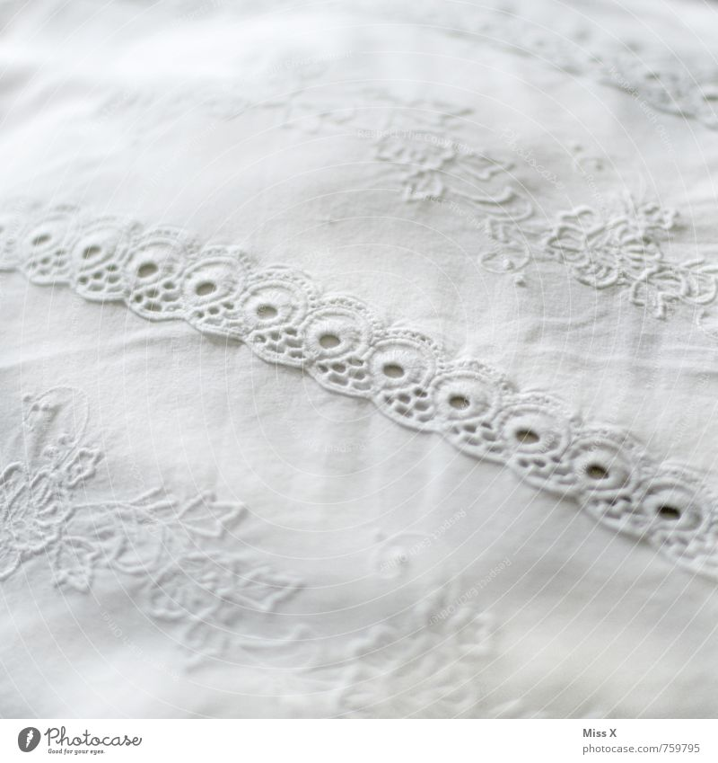 border Decoration Bed Bedroom Cloth White Cleanliness Purity Lace Border Textiles Blanket Cushion Pillow Ornate Sewing Handcrafts Bedclothes Colour photo