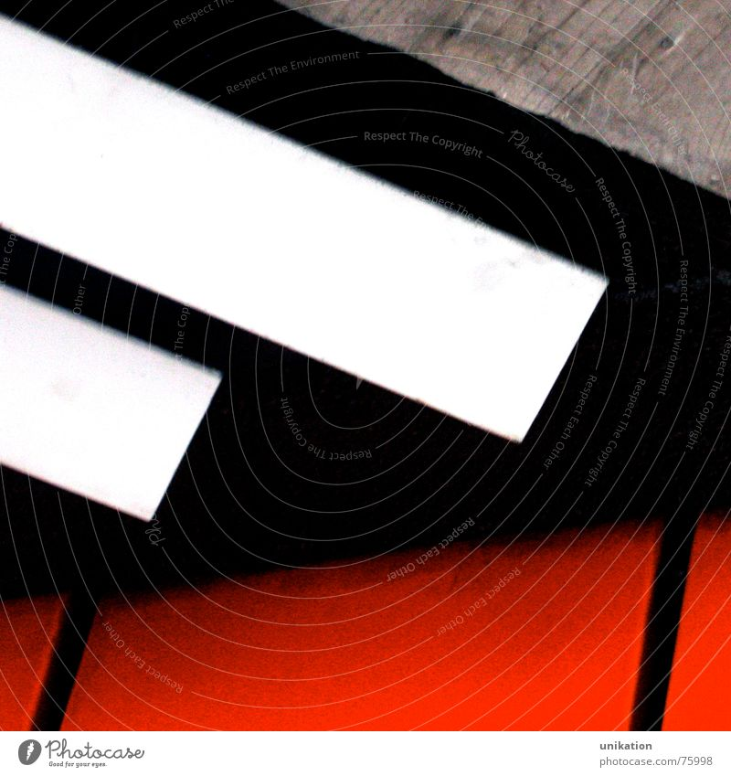 Contrast White Red Black Wall (building) Gray Wall (barrier) Line Concrete Crazy Stripe Underpass