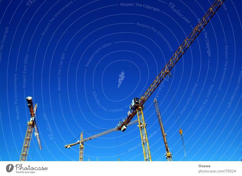 Sky Blue Construction site Build Crane Sky blue Outrigger