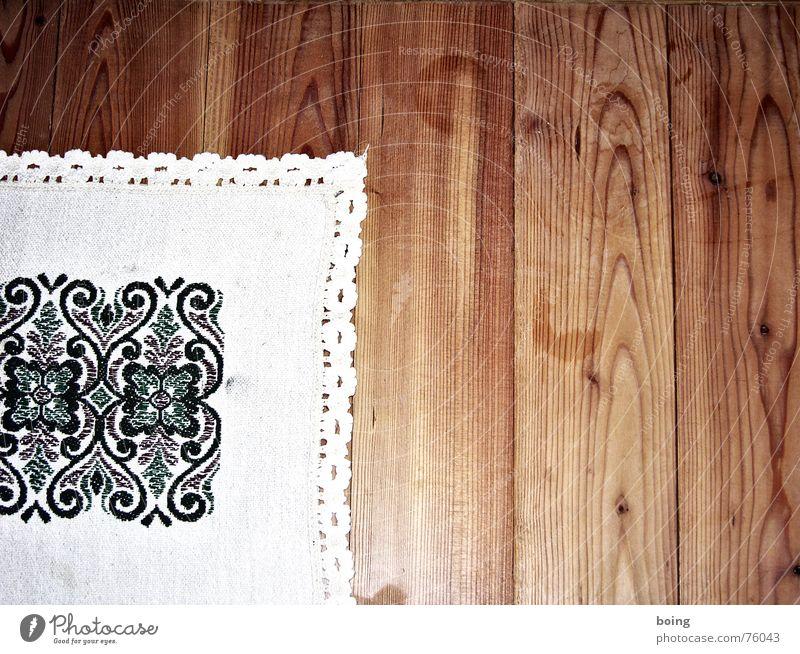 Table Decoration Café Congratulations Blanket Lace Household Wooden floor Beer garden Regulars Embroider Happy Birthday