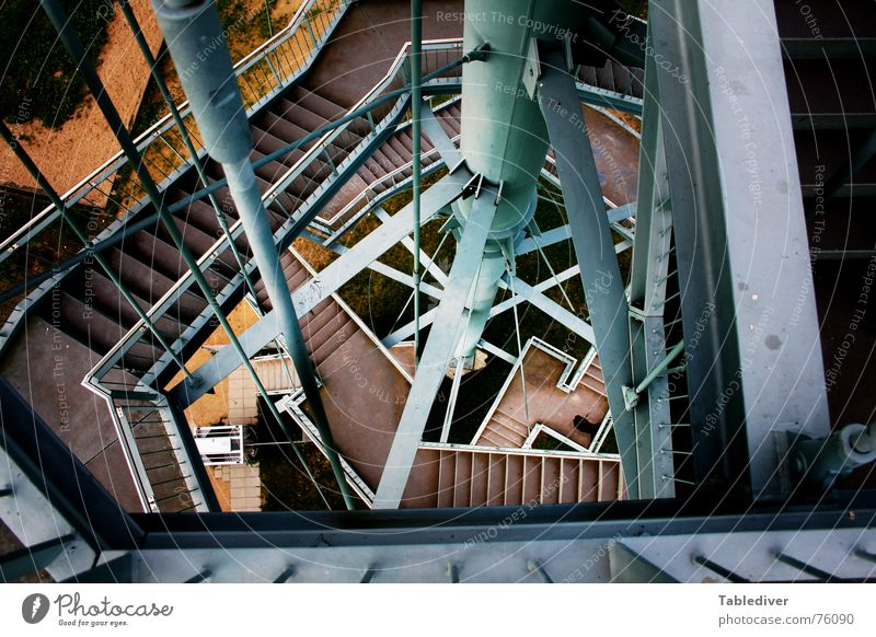 Metal Stairs Industrial Photography Tower Construction Iron Maze Babylon