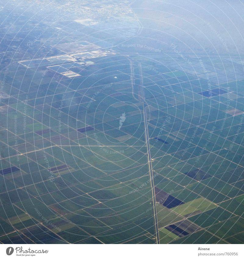 Blue Green Landscape Street Air Field Arrangement Aviation Planning Bay Under Testing & Control Bizarre Sharp-edged Direct Plain