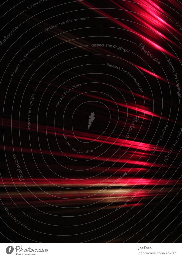 lightstripes 01 Style Night life Entertainment Music Feasts & Celebrations Air Water Line Stripe Movement Red Black Moody Vanishing point Electronic Minimal