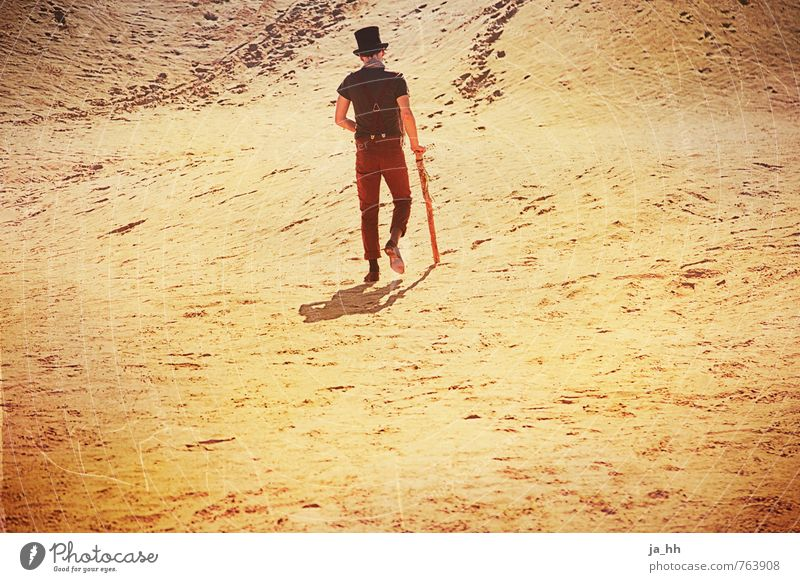 Loneliness Far-off places Beach Warmth Freedom Sand Hiking Perspective Trip Change Adventure Infinity Hope Desert Longing Fear of the future