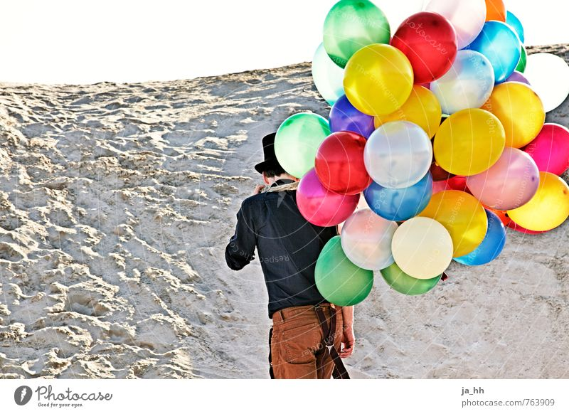 Balloons II Beach Feasts & Celebrations Joy Happy Joie de vivre (Vitality) Adventure Freedom Playing Childlike Circus Toys Ease Weightlessness Play instinct