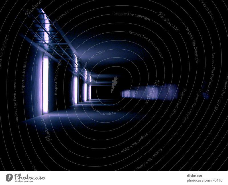 Dark Lighting Perspective Film industry Tunnel Comic Glass block