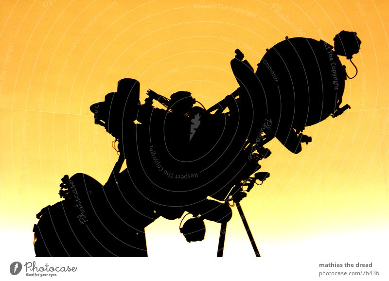 Universarium 2 Observatory Round Yellow Projector Black Technology Modern Shadow Orange Lens Image university Stars