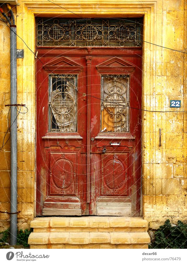 No. 22 Nicosia Grunge door doors abandoned decay cyprus Turkish texture textures