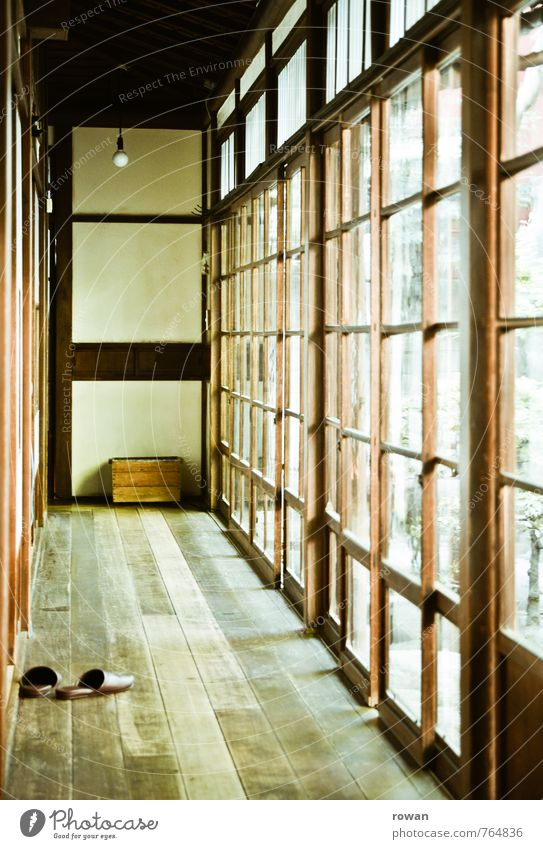 Calm House (Residential Structure) Window Architecture Building Wood Bright Flat (apartment) Facade Living or residing Glass Manmade structures Tradition Japan