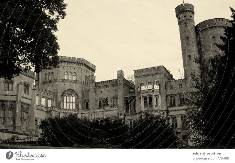 Babelsberg Castle Luxury Stage Old times Potsdam-Babelsberg Respect Exterior shot King Past Knight Germany Film industry Fear Might Electricity Architecture