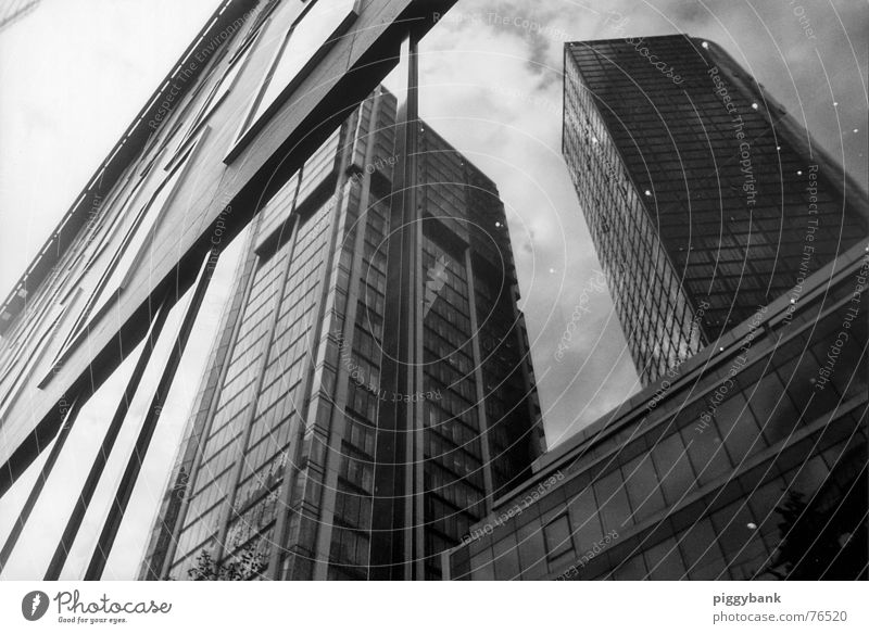 City High-rise Transience Mirror Luxury Skyline Frankfurt Trade Downtown Deception Rich