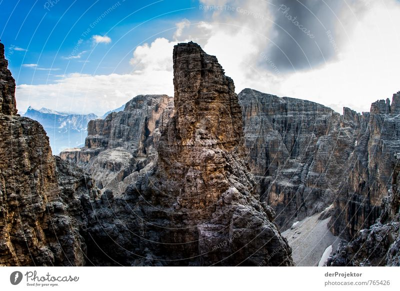 The finger in the Dolomites Vacation & Travel Tourism Adventure Far-off places Freedom Mountain Hiking Environment Nature Landscape Plant Elements Summer