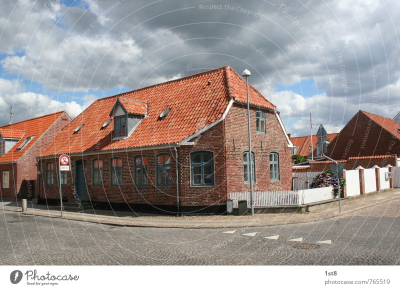 danish corner Village Fishing village Small Town Downtown Deserted House (Residential Structure) Detached house Dream house Wall (barrier) Wall (building)