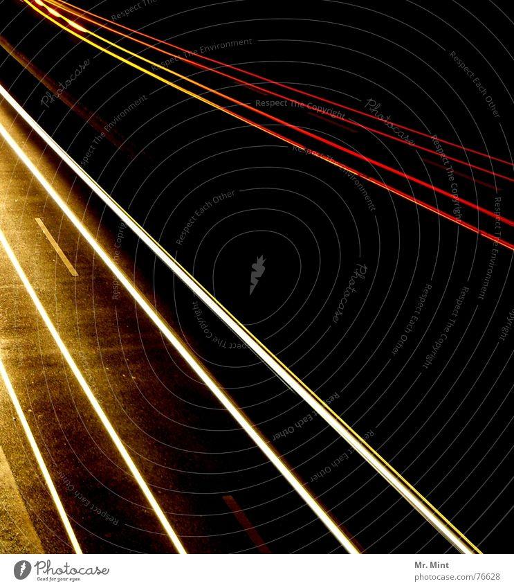 Dark Speed Tracks Highway Floodlight Distorted Rear light