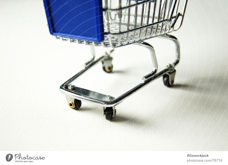 Metal Store premises Iron Basket Supermarket Shopping Trolley Consumption Carriage
