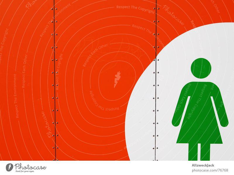 Woman Wait Stand Toilet Signage Stick figure Placeholder Bowel movement Ladies' bathroom