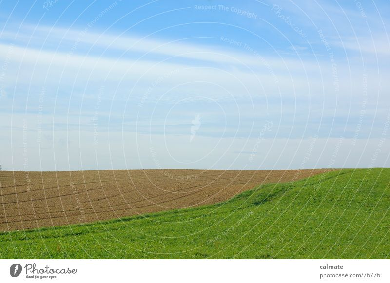 - agrarimpresions II- Clouds Meadow Green Field Play of colours Sky Landscape