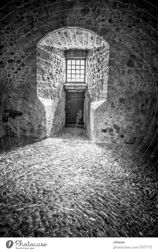 inside the castle gruyere Castle Tower Gate Wall (barrier) Wall (building) Window Door Floor covering Tourist Attraction Old Threat Large Safety Protection Calm