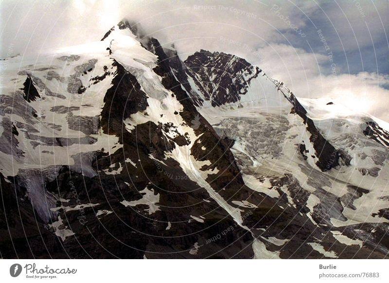 Sky Loneliness Snow Mountain Ice Peak Glacier Impassable