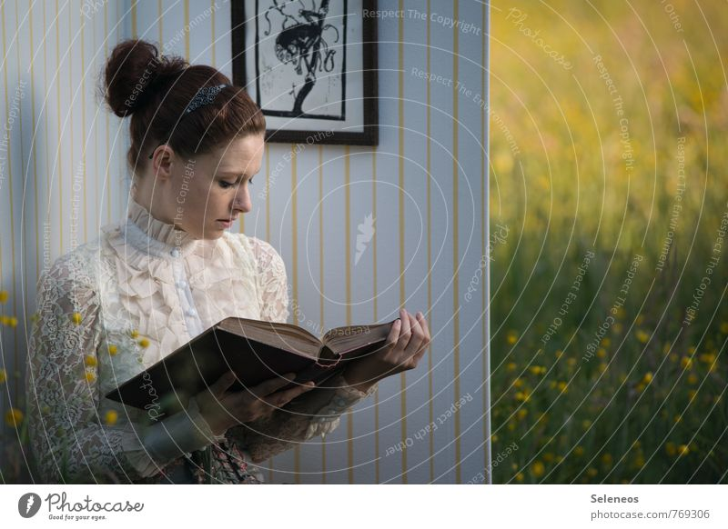 true story Room Living room Human being Feminine Woman Adults Hair and hairstyles Face 1 Environment Nature Landscape Spring Summer Flower Grass Bushes Garden