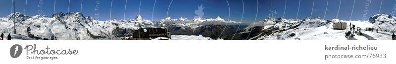 Hörnli Panorama Zermatt Switzerland Gornergrat Glacier Dufor Peak Breithorn Hiking Observatory Matterhorn 360 degree panorama Mountain Snow Ice Parrotspitze