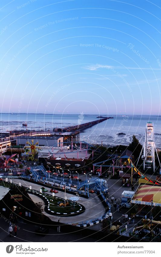 Ocean Beach Fairs & Carnivals Jetty England Carousel Roller coaster