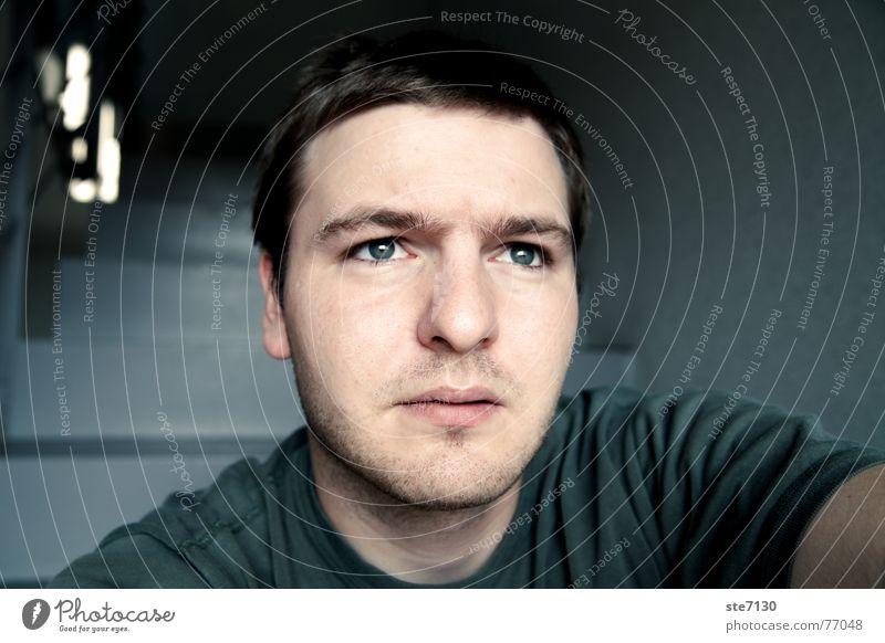 Man Vantage point Facial hair Self portrait Graceful Designer stubble