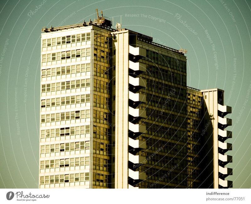 "The Black Hole! ""view two"" High-rise Italy building palace Skyline architecture Euro windows finances"
