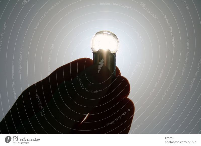 Sky Old Hand Lamp Bright Fingers Broken To hold on Clarity Creativity Idea Electric bulb Dazzle Awareness Flashy Brilliant