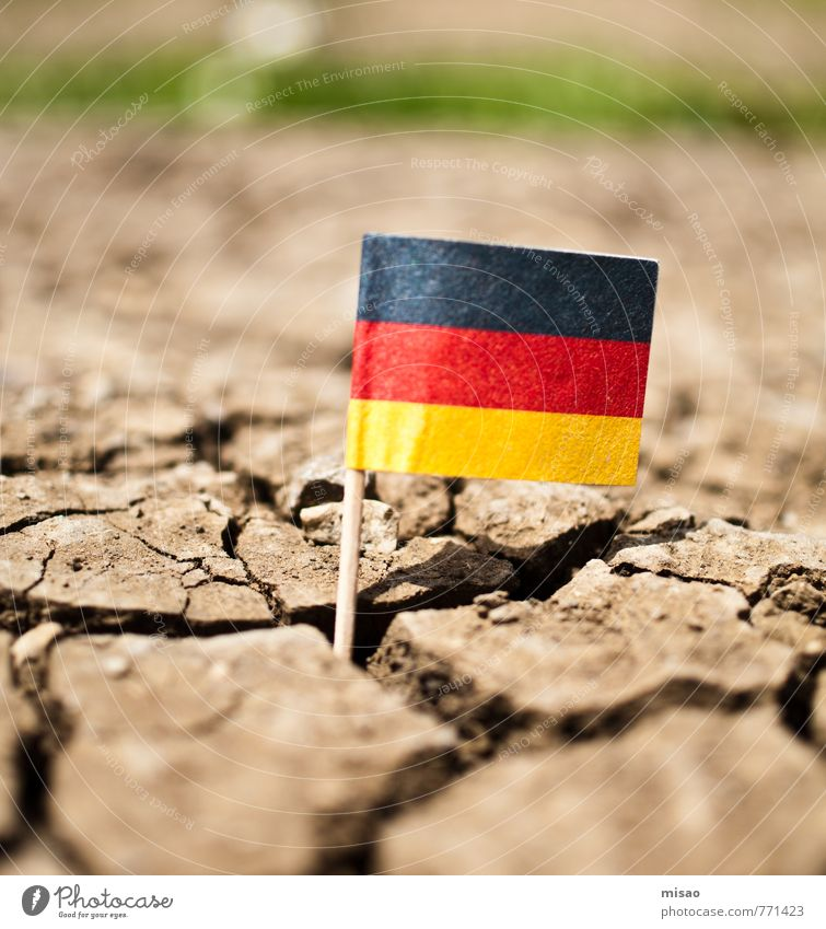 Nature Green Sun Loneliness Red Black Yellow Brown Earth Field Speed Beautiful weather Threat Change Help German Flag