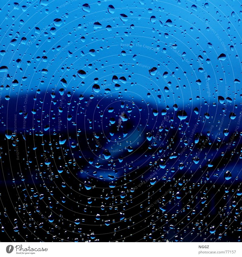 Water Beautiful House (Residential Structure) Rain Drops of water Hope Window pane Converse Release