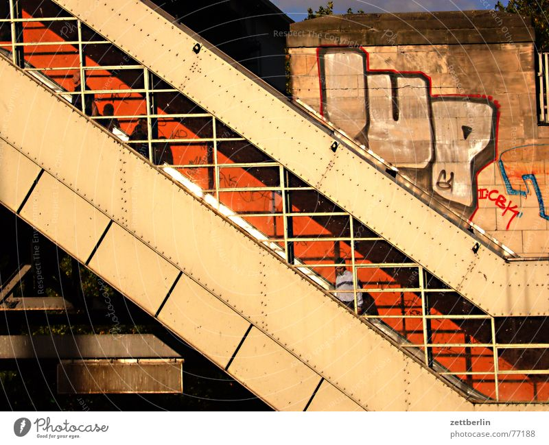 City Berlin Stairs Crazy Driving Logistics Handrail Gate Underground Diagonal Upward Americas Testing & Control Grating Downward Pedestrian