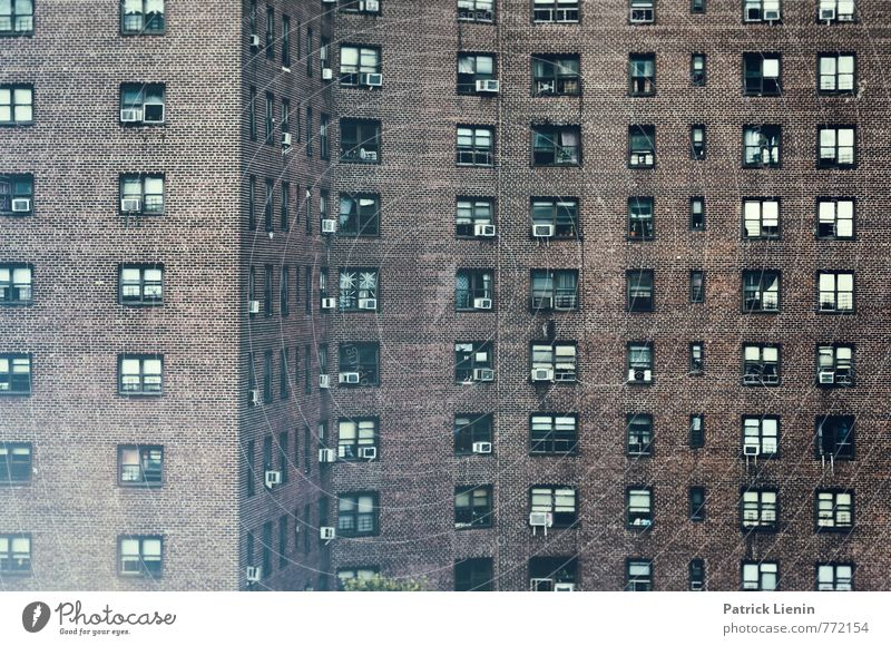 City House (Residential Structure) Dark Window Wall (building) Architecture Wall (barrier) Building Exceptional Facade High-rise Uniqueness Infinity Many USA