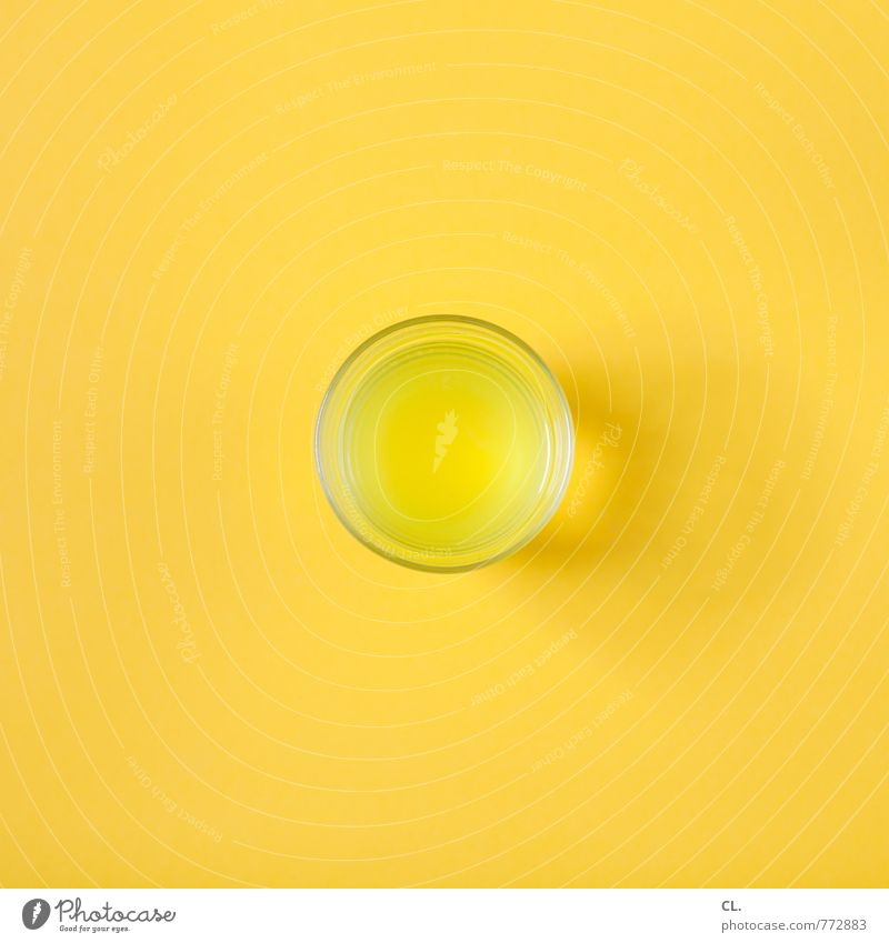 vitamin C Beverage Drinking Cold drink Lemonade Glass Healthy Healthy Eating To enjoy Happiness Fresh Sweet Yellow Joy Joie de vivre (Vitality) Design