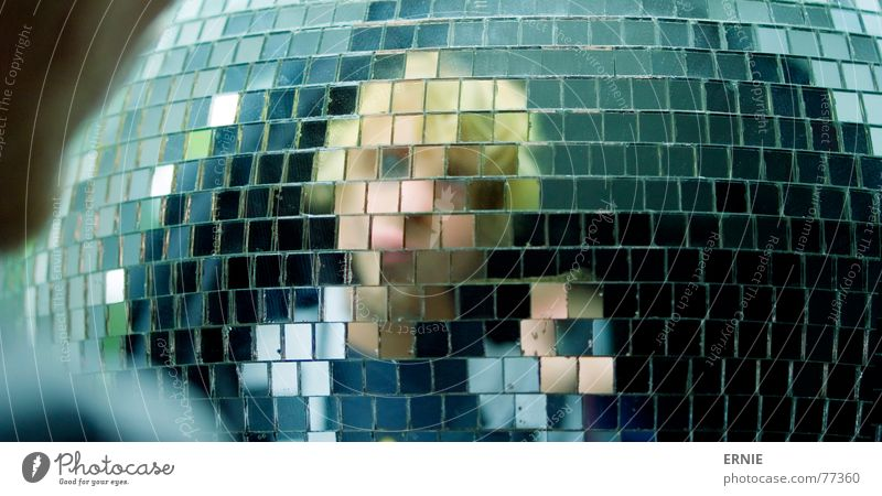 Hand Hair and hairstyles Blonde Small Large Round Disco Mirror Sphere Self portrait