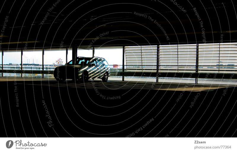 Sun Window Car Park Lighting Parking Parking garage Roller blind Underground garage Allianz Arena Fröttmaning