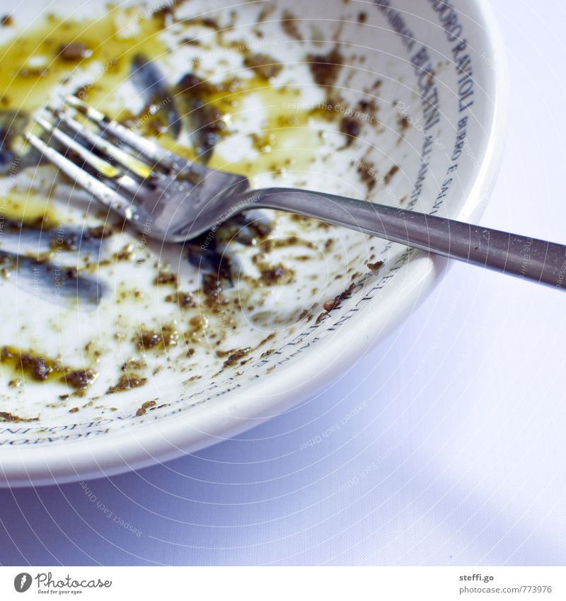 Eating Food Dirty Glittering Contentment To enjoy Nutrition Round Kitchen Delicious Appetite Crockery Restaurant Plate Dinner Lunch