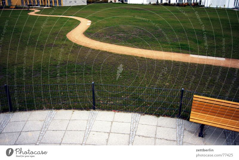 off Meadow Residential area Fence Metalware Playground Thought Lanes & trails more splashy Bench Freedom Paving tiles