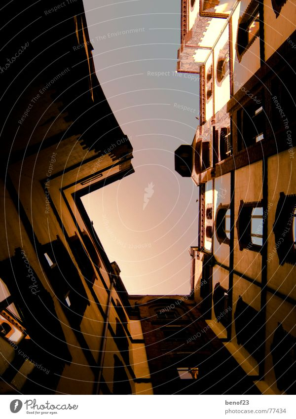 one_way_up Window Wall (barrier) Light Farm Sky Perspective Hollow Architecture
