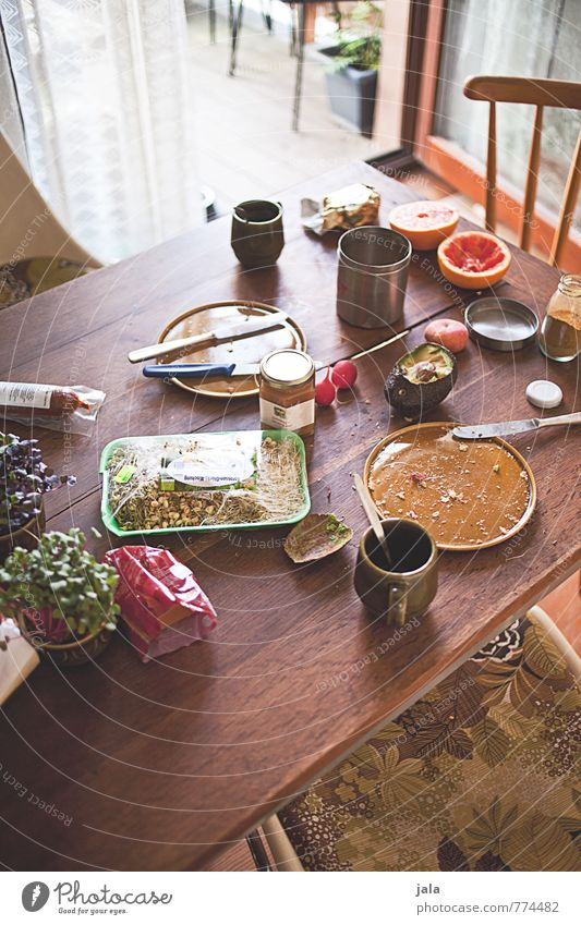 Healthy Eating Natural Food Flat (apartment) Living or residing Fruit Fresh Nutrition Beverage Table Coffee Kitchen Delicious Organic produce Crockery