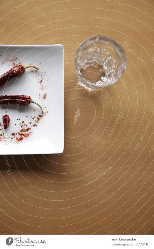 Nature Water White Red Nutrition Glass Table Tangy Herbs and spices Stalk Cooking & Baking Plate Dried Beech tree Food